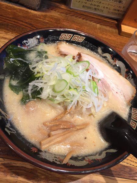 「札幌味噌ラーメン」@北海道らーめん ひむろ 松戸駅前店の写真