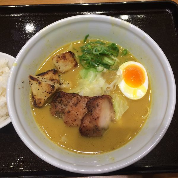 「博多鶏カレー(限定)」@RAMEN EXPRESS 博多一風堂 三井アウトレットモール入間店の写真