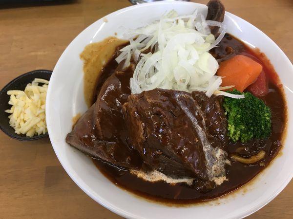 「8周年限定 牛タン トマト煮乗せB」@MENYA 食い味の道有楽の写真
