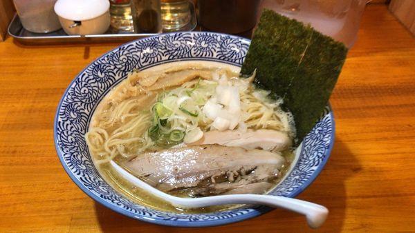 「煮干し中華そば 700円」@麺屋 徳星の写真