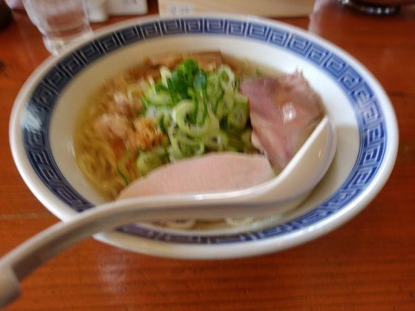 「塩らーめん(中盛・180g)780円」@鶏だしらーめん蒼生の写真