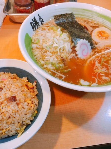 「醤油ラーメン」@支那そば 勝丸 目黒本店の写真