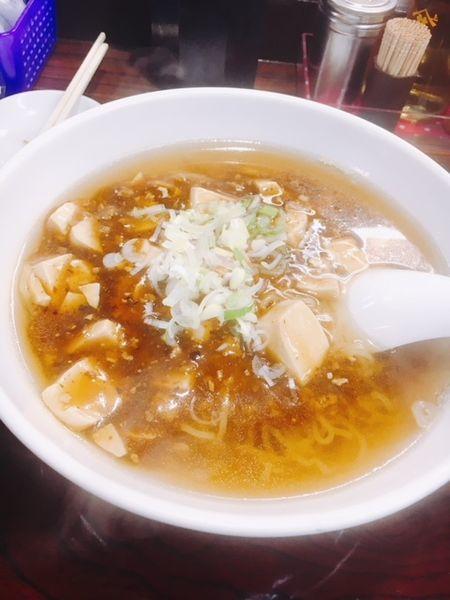 「マーボー麺」@らーめん 寿限無の写真