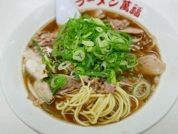 「しょうゆラーメン(並)麺硬め」@ラーメン 萬福 京都駅前店の写真