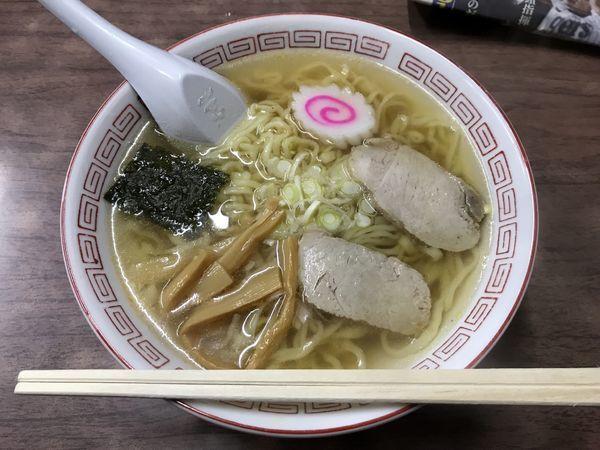 「ラーメン」@松葉食堂の写真