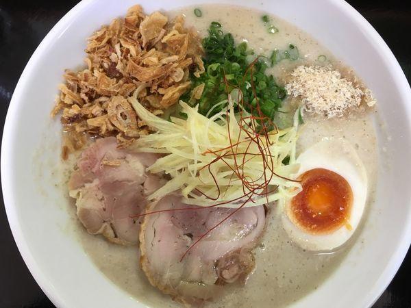 「鶏白湯ラーメン 750円」@麺屋ふたばの写真