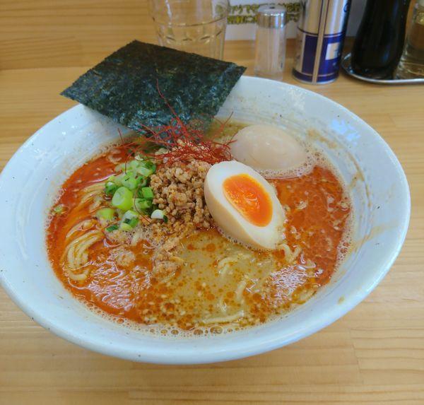「限定 オマール担々麺 ラーパス味玉」@宮二郎の写真