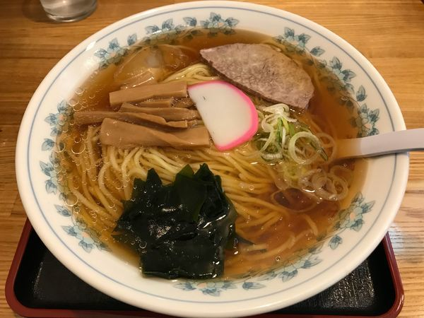 「冷しラーメン  770円」@栄屋分店の写真