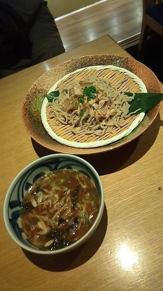 「濃厚魚介岩のりつけ麺810円」@スワンレイク パブ エド 修蔵 新宿店の写真