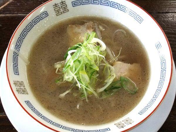 「醤油ラーメン(ミニ)(450円)」@庵の写真
