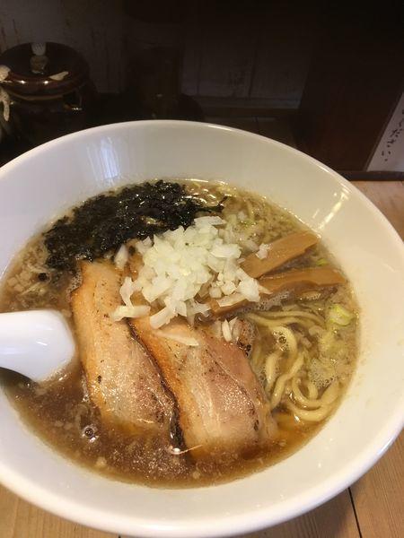 「濃厚煮干ラーメン+雑炊ごはん」@焼きあご煮干しラーメン きちの写真