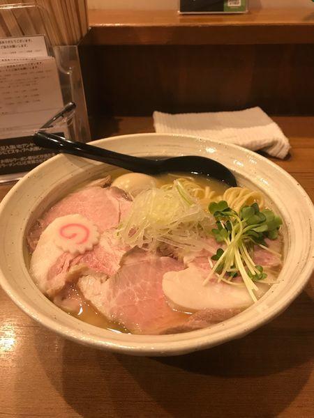 「特選鶏そば」@麺屋 NOROMAの写真