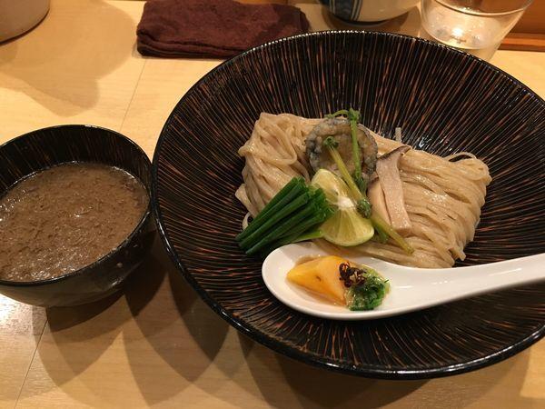「「東京すだち遍路」秋刀魚つけそば」@饗 くろ㐂の写真