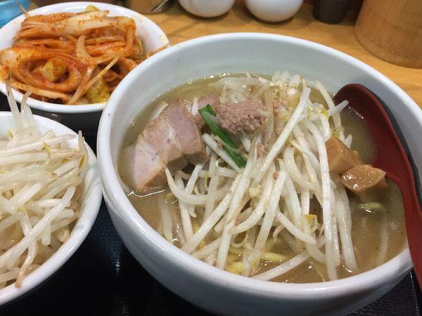 「味噌ラーメン野菜大盛800円」@味噌麺処 花道の写真