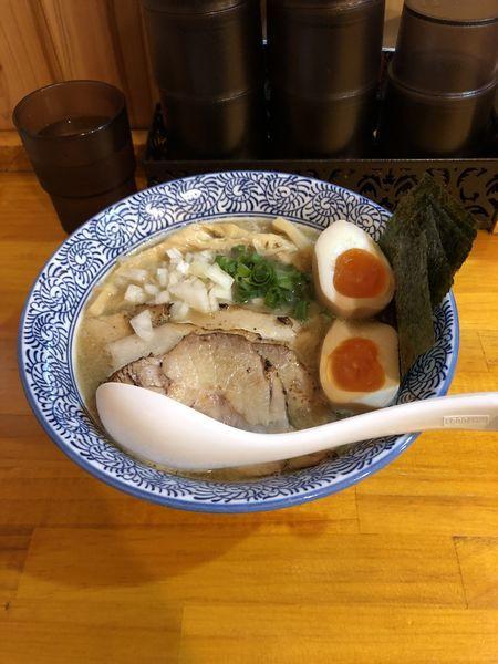 「特製濃厚煮干しそば」@麺屋 徳星の写真