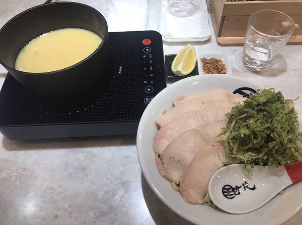 「塩つけ麺」@麺屋 時茂 高崎店の写真