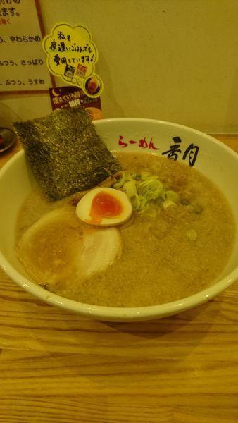 「背油醤油らーめん」@ら〜めん香月 池尻大橋店の写真