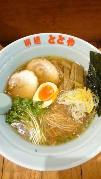 「ととやめん  650円  鰹油無し」@柳麺 ととやの写真