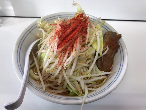 「鶏郎 中盛(800円)→平日ランチサービス(750円)」@ラーメンKAZE 本店の写真