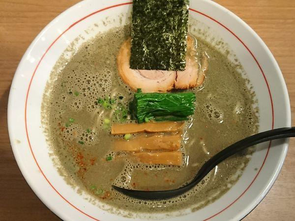 「【限定】空前絶後のにぼしラーメン ¥900」@麺屋 はちどりの写真
