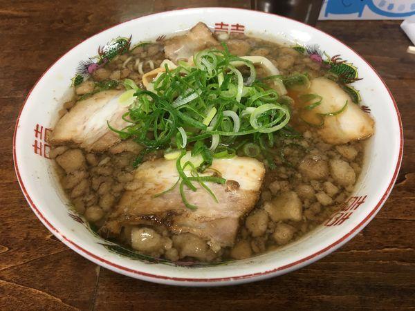 「チャーシュー麺」@尾道ラーメン 一丁の写真