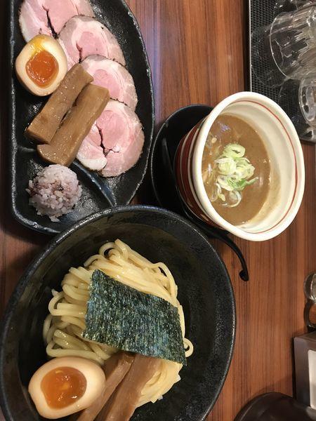 「魚介豚骨特つけ」@つけ麺 きらりの写真