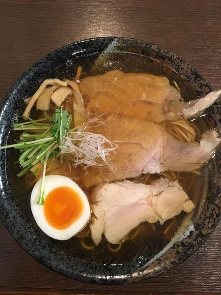 「麺遊心ラーメン」@麺遊心の写真