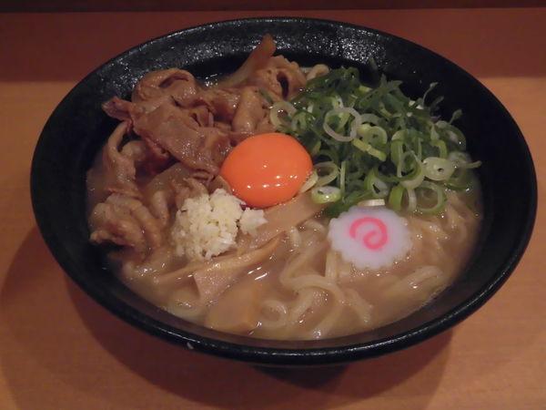 「肉玉そば+無料ライス」@肉玉蕎麦 おとど 北松戸総本山の写真