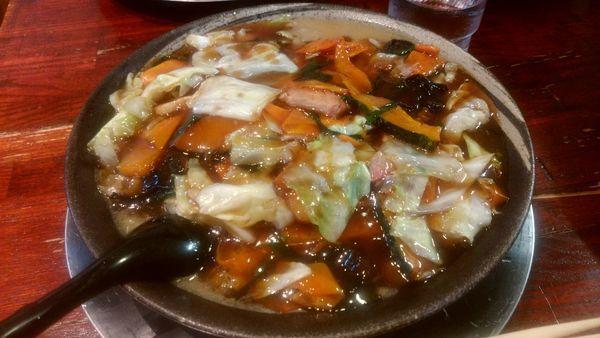 「茨城のご当地ラーメン」@俺の麺 豚と鳥の写真
