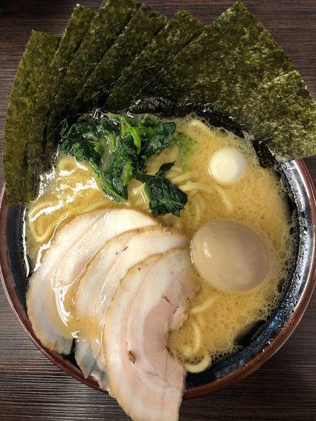 「スペシャル(醤油)+ライス」@横浜家系ラーメン 大黒家の写真