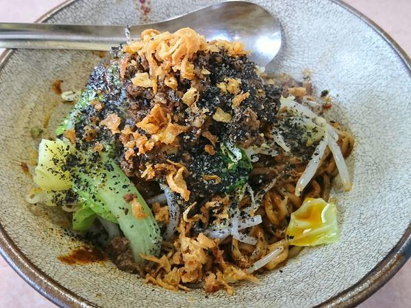 「汁のない担々麺 ¥800」@湯麺 破天荒の写真
