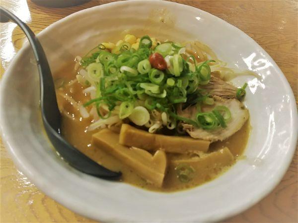 「極上とろ味噌らーめん +替え玉(中麺) ※㋗で500円」@麺場 風麟の写真