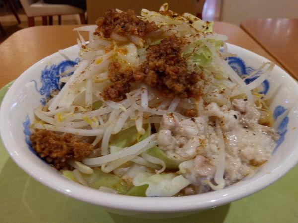「担々麺」@ジャンクガレッジ 越谷レイクタウン店の写真