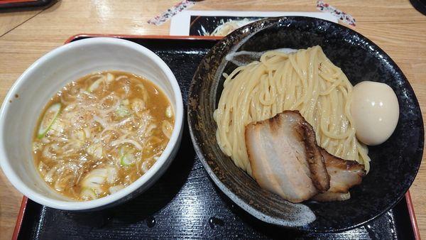 「味玉つけ麺中盛」@麺屋 睡蓮の写真