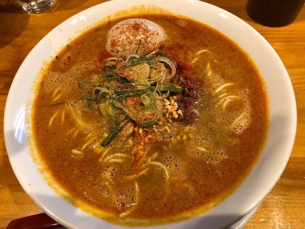 「担担麺」@麺庵ちとせの写真