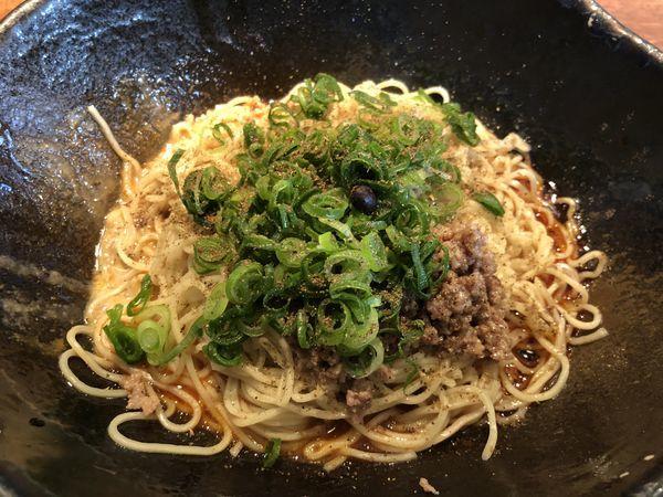 「汁なし坦々麺2辛」@キング軒 東京店の写真