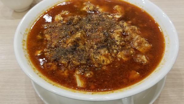 「激辛麻婆麺」@中華麺飯・飲茶 四川乃華 ichi イオンモール松本店の写真