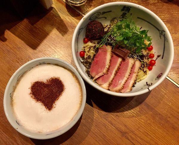 「チョコガーナ」@麺屋武蔵 新宿本店の写真