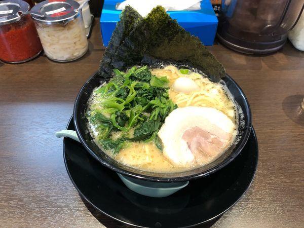 「ラーメン ほうれん草  780円」@町田商店 入間店の写真
