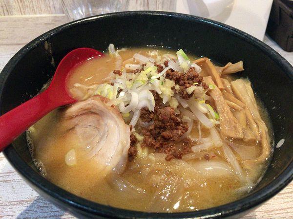 「味噌らーめん(780円)」@麺屋 誉の写真
