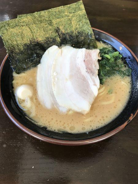 「醤油ラーメン+大盛り(¥700+¥100)」@横濱家系ラーメン 湘家の写真