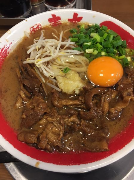 「徳島肉入りラーメン」@ラーメン東大 尼崎店の写真