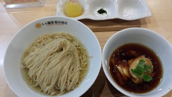 「つけ麺(昆布カツオ水かけ)1000円」@らぁ麺 飯田商店の写真