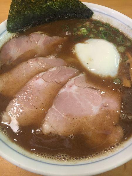 「【限定】濃厚魚介醤油¥880」@讃岐らーめん はまんどの写真