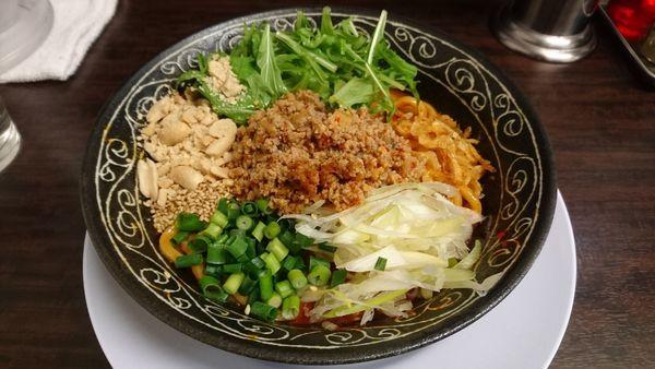 「汁なし担々麺」@丸直の写真