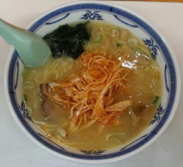 「ねぎ味噌ラーメン750円」@修ちゃんラーメン 山形駅前本店の写真