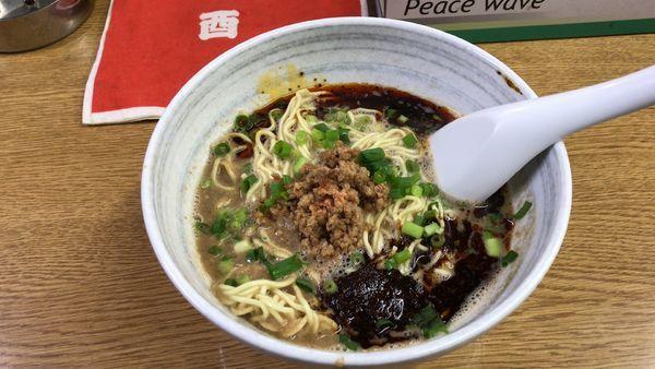 「担々麺(¥750)+半ライス(無料)」@雅龍の写真
