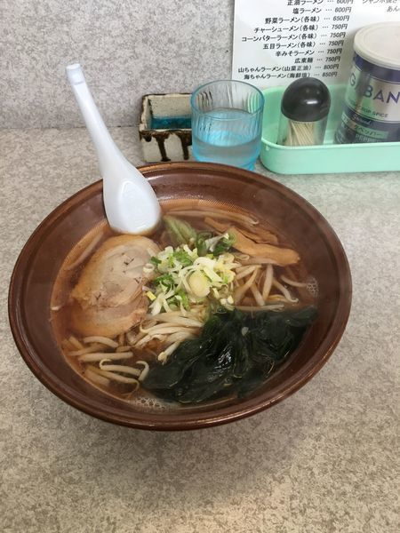 「醤油ラーメン」@あうんの写真