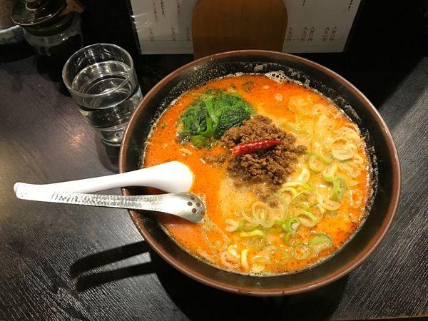 「担々麺」@らーめん屋 豪快の写真