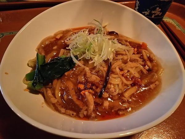 「豚肉とタケノコのあんかけ麺」@Vulcania Restaurantの写真